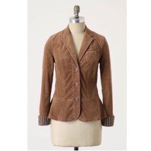 ANTHROPOLOGIE Pilcro corduroy blazer